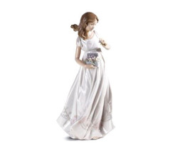 "$575 LLADRO ""TREASURES OF THE EARTH"" BRAND NEW IN BOX #6921 WOMAN FIGURI... - $346.49"