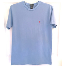 BOYS POLO RALPH LAUREN SZ XL 20 BLUE COTTON T-SHIRT EXCELLENT CONDITION  - $10.99