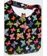 Colored Butterfly Design Custom Made One Piece Adjustable Strap Tote Han... - $24.95