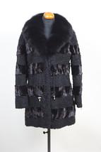 Luxury gift/ Persian Black Lamb/mink / Black fox collar /Fur Coat/ Fur jacket /  - $900.00
