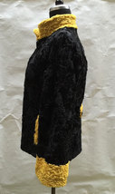 Luxury gift/ Persian karakul Astrakhan Fur jacket/ Fur coat/ Wedding,or annivers image 3