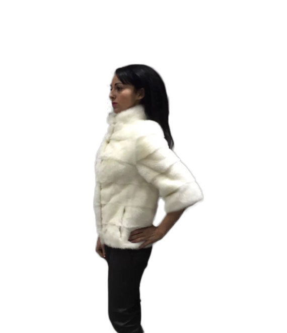 Luxury gift/ Mink fur/Fur jacket Full skin/ Wedding,or anniversary present image 2