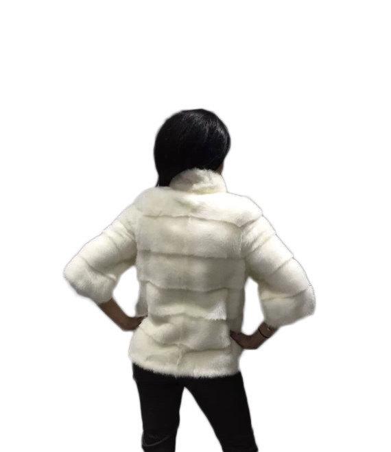 Luxury gift/ Mink fur/Fur jacket Full skin/ Wedding,or anniversary present image 3