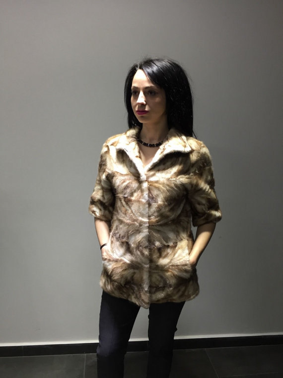 Luxury gift /  Mink fur coat/ Fur jacket / Wedding,or anniversary present