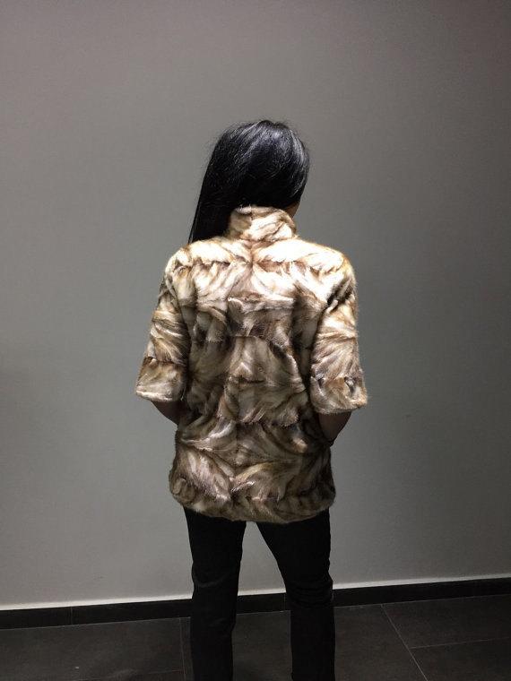 Luxury gift /  Mink fur coat/ Fur jacket / Wedding,or anniversary present image 2