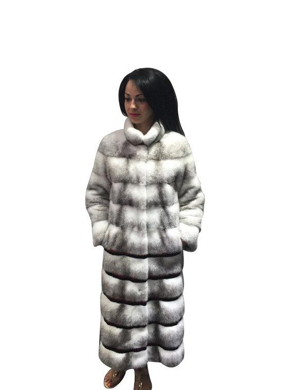 Luxury gift/ Mink  Black Cross Full skin   Fur coat/Fur jacket/Hooded/Wedding,or