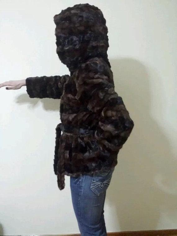 Luxury gift/ Mink Fur Jacket/ Fur coat / Wedding,or anniversary present image 3