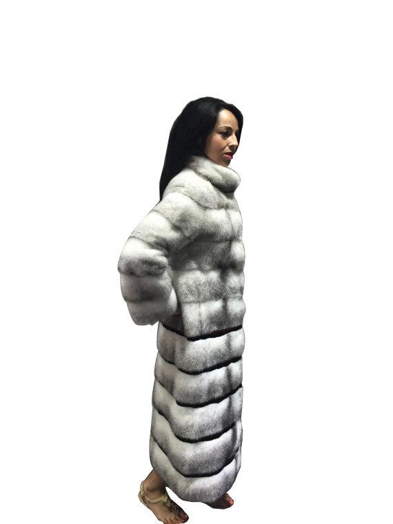 Luxury gift/ Mink  Black Cross Full skin   Fur coat/Fur jacket/Hooded/Wedding,or image 2