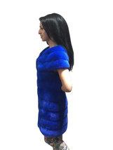 Luxury gift / Blue Mink fur coat/ Fur jacket Full skin / Wedding,or anniversary  image 2