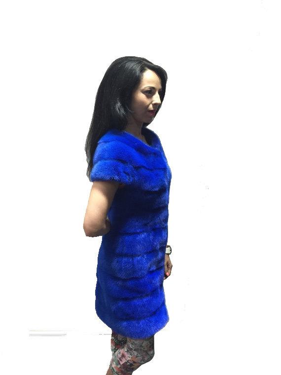 Luxury gift / Blue Mink fur coat/ Fur jacket Full skin / Wedding,or anniversary  image 3