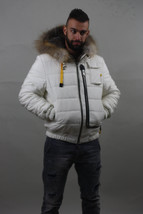 Luxury gift/ Grey fox double face/White/Mens Parka fur / Wedding,or anniversary  - $1,299.00