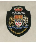 Canada Amari Usque Admare Embroidered Sewn World Travel Patch Free Shipp... - $8.63