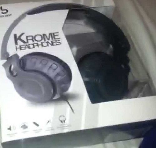 Bass Jaxx Krome Headphones Grey