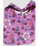 Pink Flower Design Custom Made One Piece Adjustable Strap Tote Handbag C... - $24.95