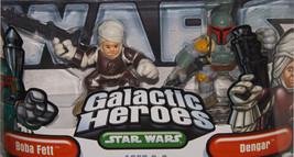 Rare 2004 Star Wars Galactic Heroes Boba Fett &... - $20.00