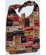 Western BBQ Design Custom Made One Piece Adjustable Strap Tote Handbag C... - $24.95