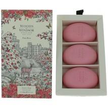 Woods of Windsor True Rose Fine English Soap 3 x 2.1oz (Box of 3) - $20.00