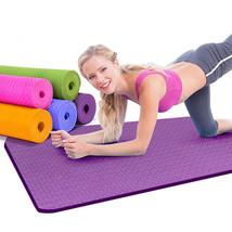 6mm Thick TPE Yoga mats fitness environmental tasteless gymnastics mat 1... - $33.98