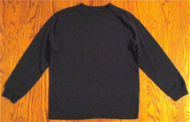 BOY'S SZ M 8 OLD NAVY BLACK LONG SLEEVE T-SHIRT - $5.99