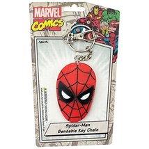 Marvel Comics SpiderMan Bendable Keychain - $4.89