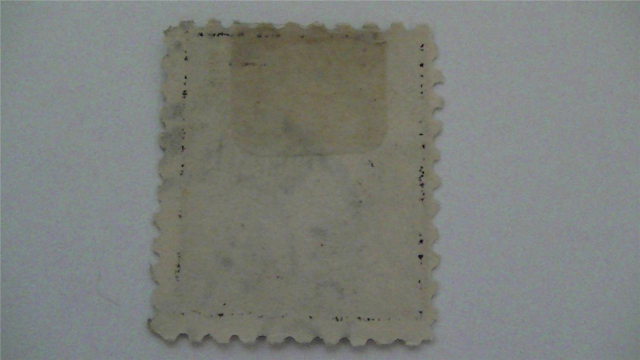 Vintage Deep Violet Old USA Used 3 Cent Stamp