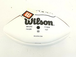 Wilson Autographed  3 Panel Official Football Unsigned F1192R NEW - $61.91