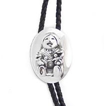 Navajo Silver Storyteller Bolo Tie - $88.11