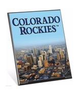 "MLB Colorado Rockies Stadium Premium 8"" x 10"" Solid Wood Easel Sign - $9.95"