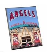 "MLB Anaheim Angels Stadium Premium 8"" x 10"" Solid Wood Easel Sign - $9.95"