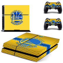 Golden state warriors ps4 skin for console and controllers - $15.00
