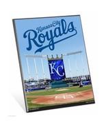 "MLB Kansas City Royals Stadium Premium 8"" x 10"" Solid Wood Easel Sign - $9.95"