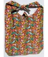 Colored Teardrop Design Custom Made One Piece Adjustable Strap Tote Handbag - $24.95