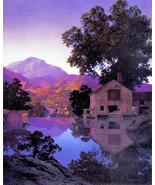 Mill Pond 22x30 Hand Numbered Ltd. Edition Maxfield Parrish Art Deco Print - $64.33