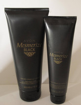 Avon MESMERIZE BLACK for him Hair & Body Wash, After Shave Conditioner - $8.81
