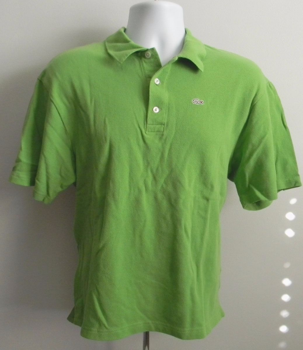 Euc Mens Lacoste Polo Shirt Size 5 Green And 41 Similar Items