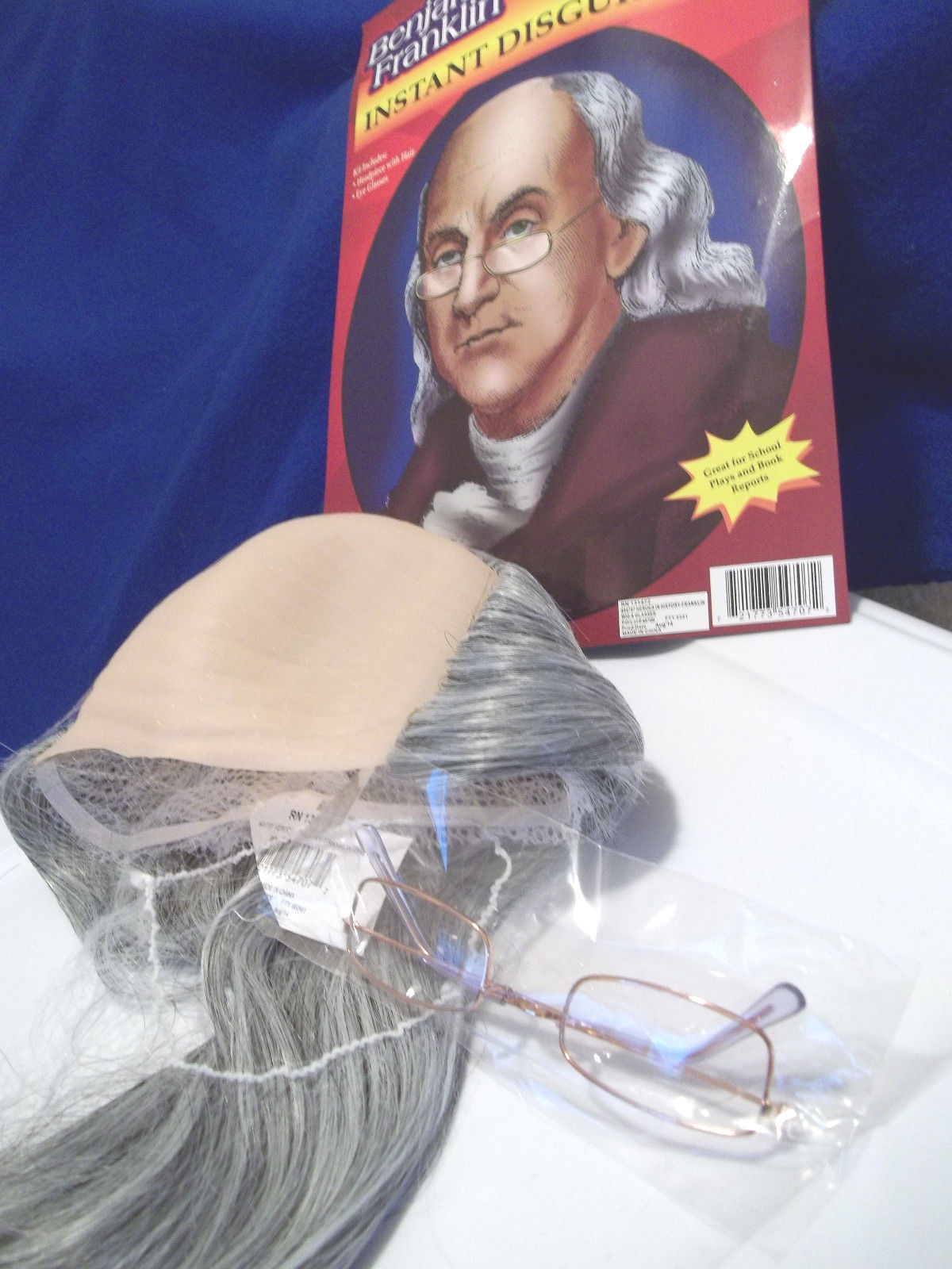 BEN FRANKLIN HEROES IN HISTORY DISGUISE KIT SCHOOL PLAYS REPORTS