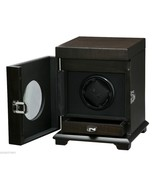Volta single Belleview Rustic Brown square watch winder 31-560011 / Storage - $257.39