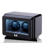 Volta Automatic Double 2 Watch Winder Carbon Fiber with Rotating Base 31... - $590.75