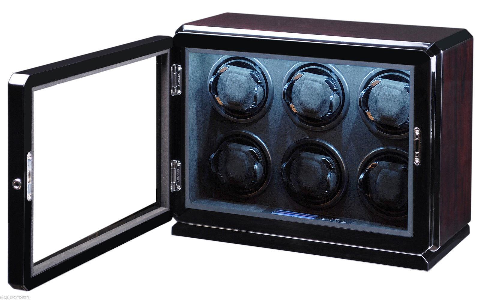 Volta Automatic Roadster Rosewood 6 Watch Winder Box 31-570062