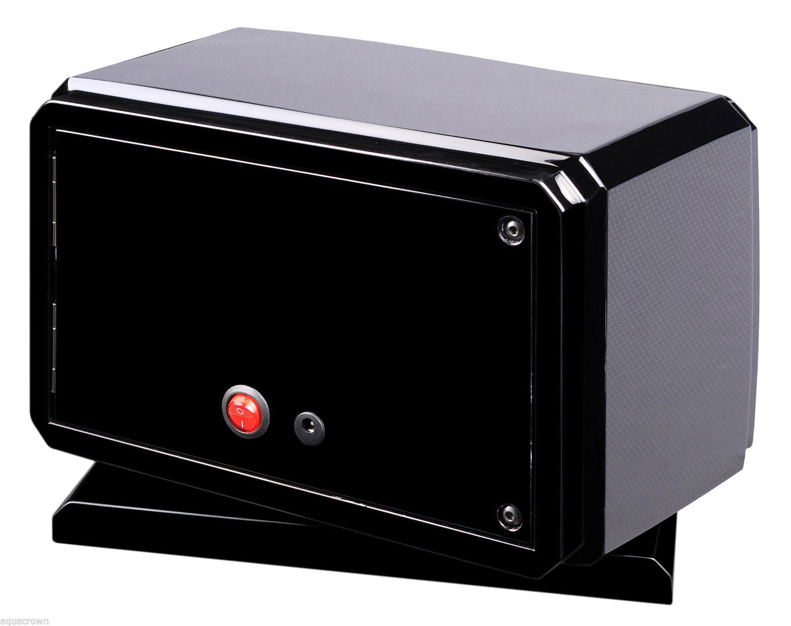 Volta Automatic Double 2 Watch Winder Carbon Fiber with Rotating Base 31-570020