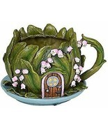 ABZ Brand Mini Fairy Garden Floral Planter Fairy House Garden Display - €11,98 EUR