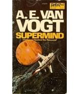 SUPERMIND by A E Van Vogt DAW SF Books #224 - $4.95