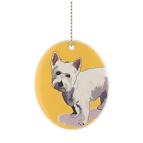 Department 56 Go Dog Westie Ornament, 3.5-Inch