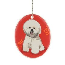 Department 56 Go Dog Bichon Ornament, 3.5-Inch