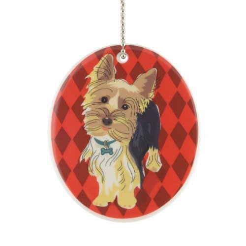 Department 56 Go Dog Yorkie Ornament, 3.5-Inch