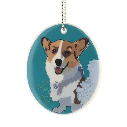 Department 56 Go Dog Corgi Ornament, 3.5-Inch