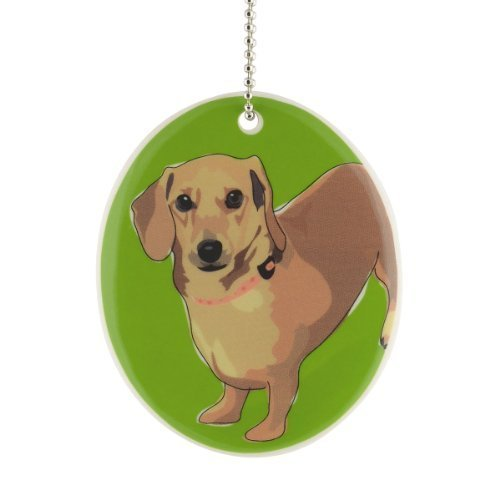 Department 56 Go Dog Dachshund Ornament, 3.5-Inch