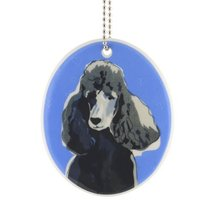 Department 56 Go Dog Poodle Ornament, 3.5-Inch