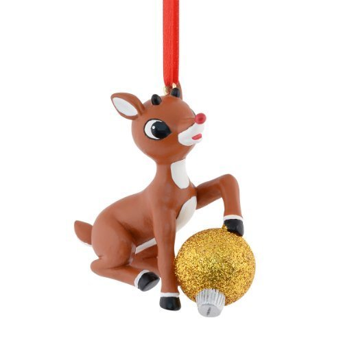 Department 56 Rudolph Rudolph's Ornament, 2.5-Inch