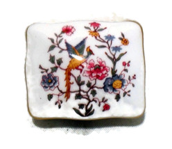 Hammersley Vintage Bone China Trinket Box made in England  - $6.50